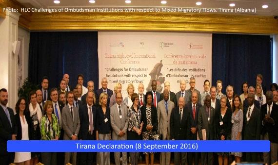 Tirana Declaration