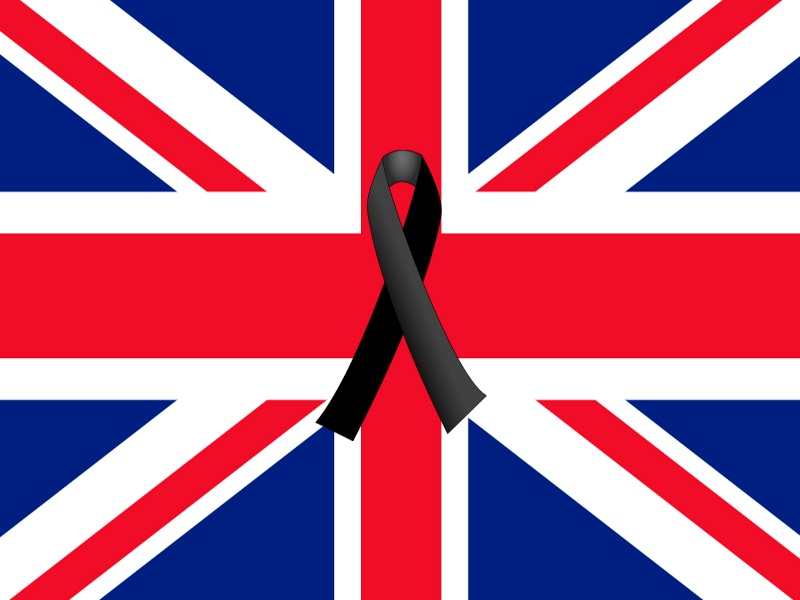Terrorist attack in London: Minute of silence for the victims