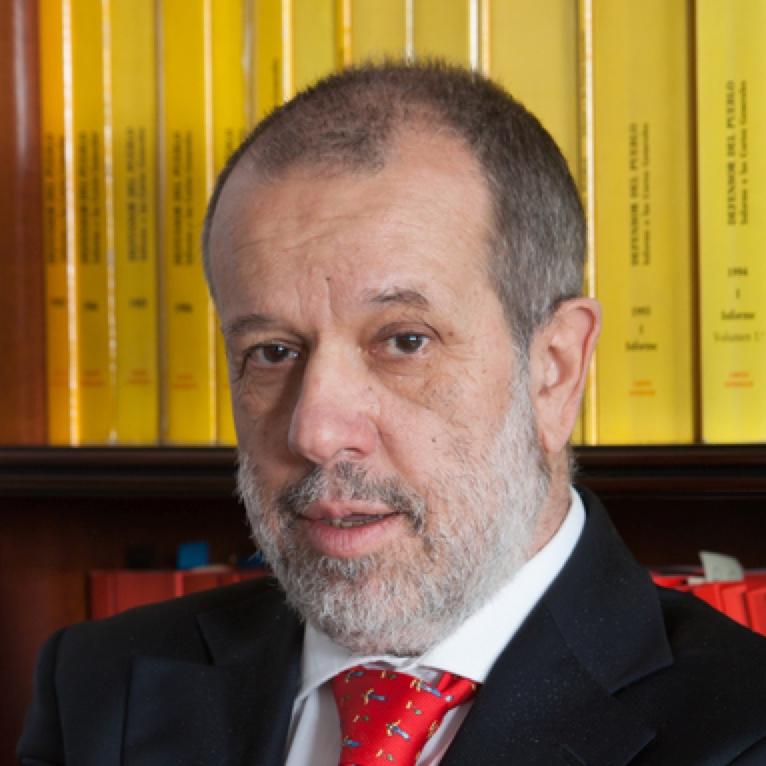 ADJUNTO PRIMERO y Defensor en funciones, Francisco Fernández Marugán