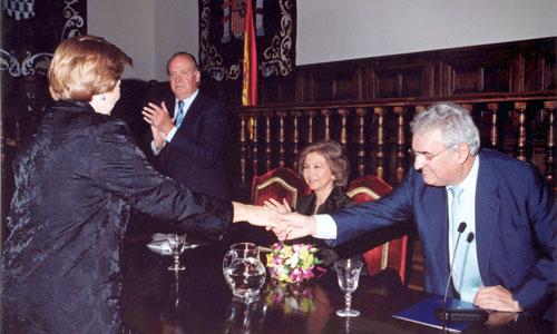 Acto de entrega de la I Edición del Premio de Derechos Humanos Rey de España