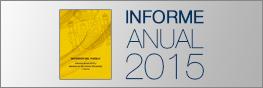 Ir al minisitio temático con toda la información sobre el informe anual 2015