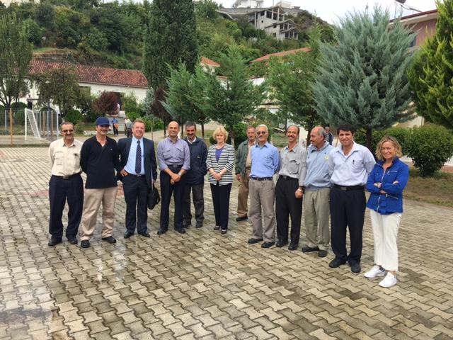 Imagen del acto.Soledad Becerril junto a otros asistentes en la Conferencia Internacional de Instituciones del Ombudsman sobre flujos migratorios