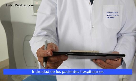 <strong>Intimidad</strong> de los <strong>pacientes hospitalarios</strong>