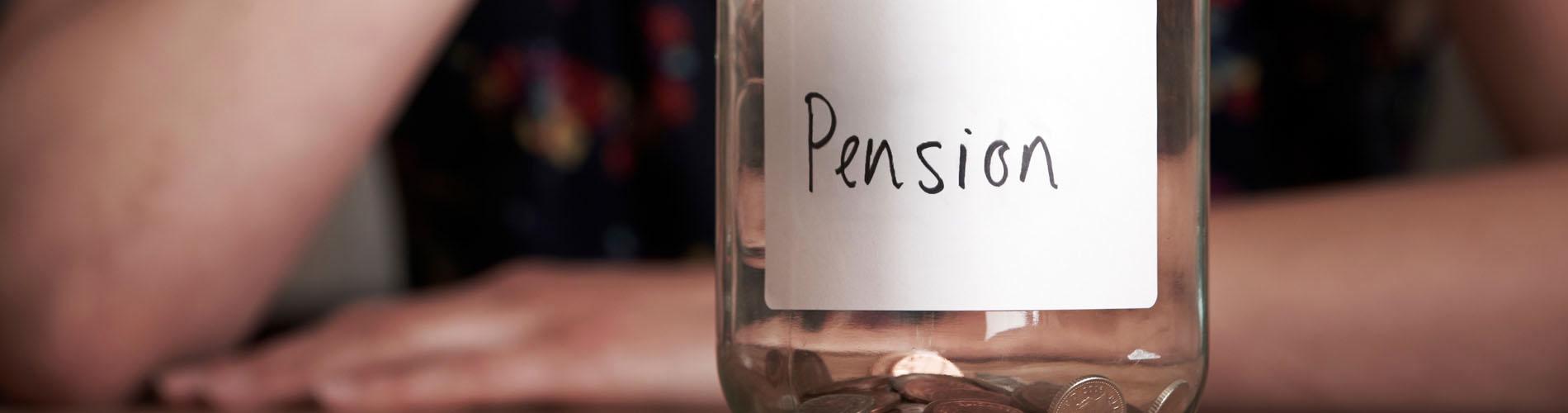 alusiva a la pensión