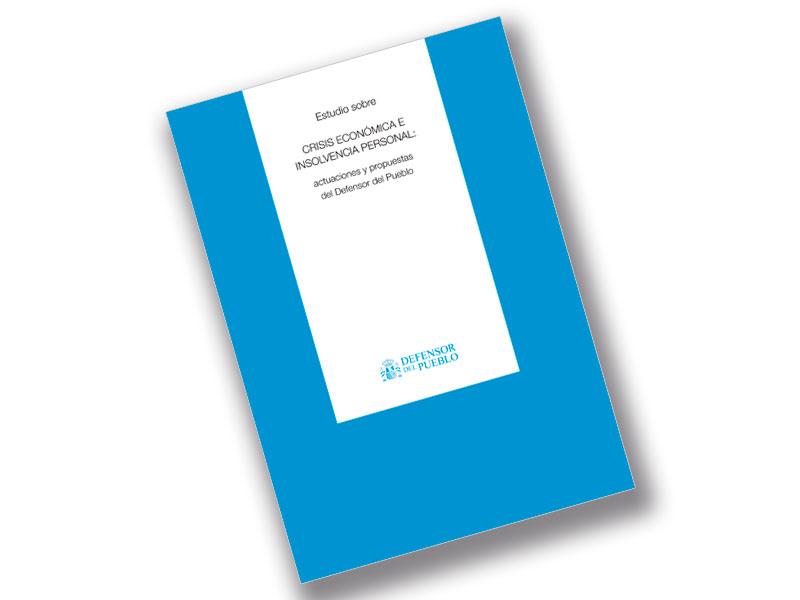 Portada del Estudio sobre Crisis económica e insolvencia personal