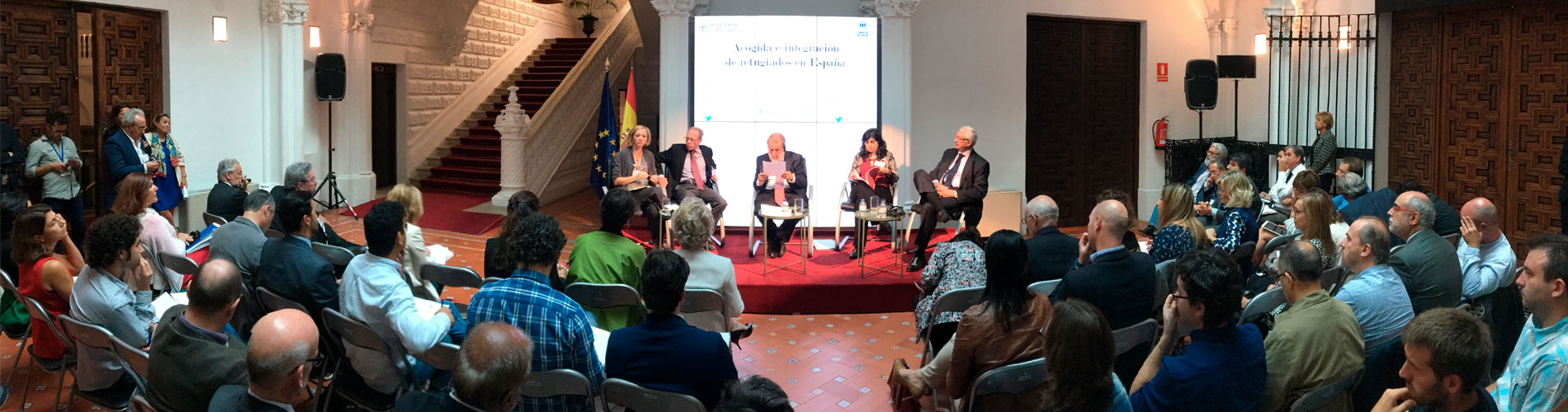 Presentación de la jornada sobre acogida e integración de refugiados en España