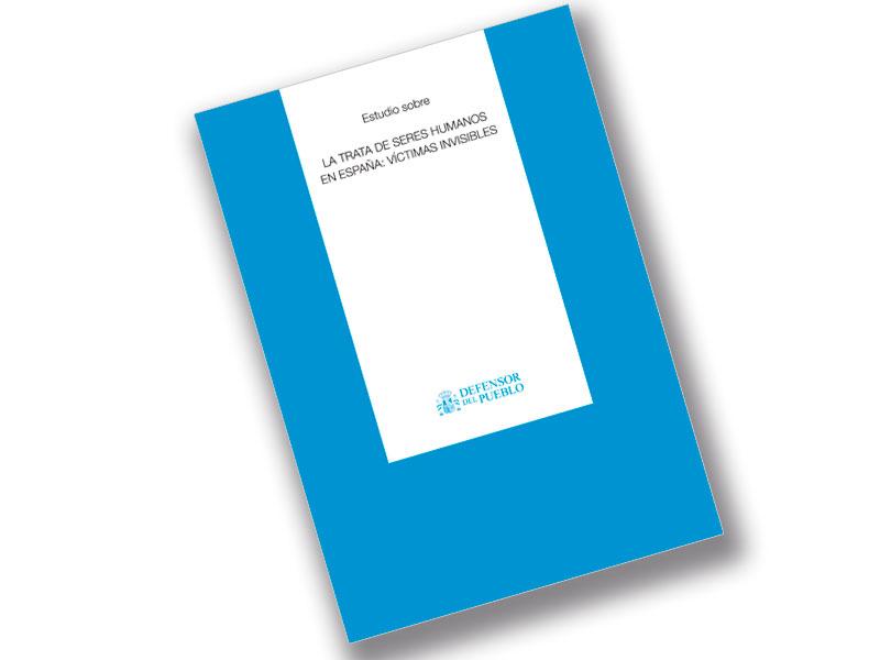 Portada estudio La trata de seres Humanos en España