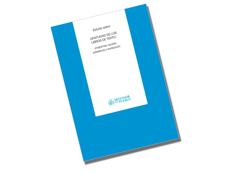 Portada Estudio sobre la Gratuidad de los libros de texto: programas, ayudas, préstamos y reutilización