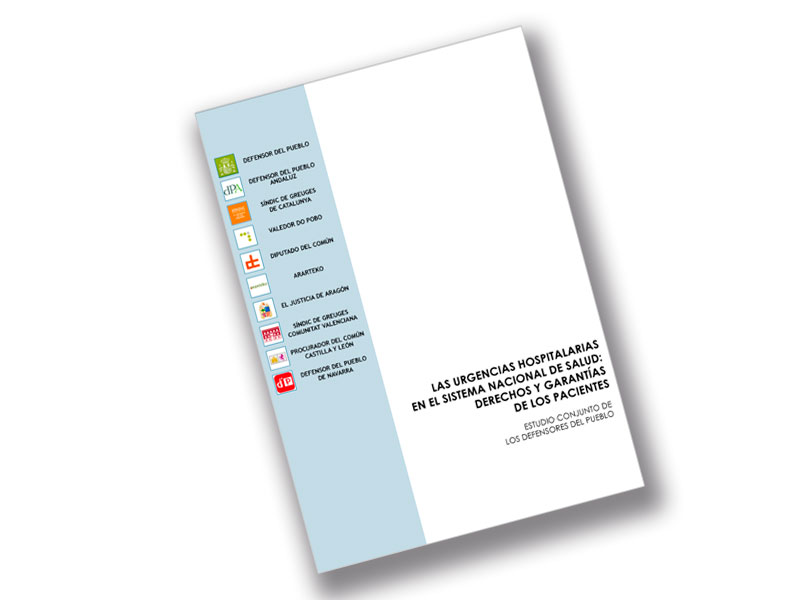 Portada estudio sobre urgencias hospitalarias