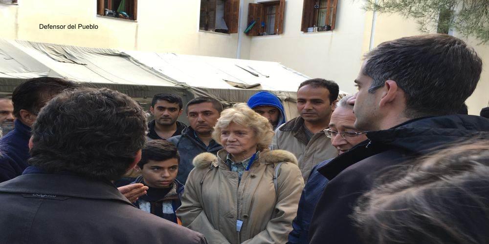 Campo Refugiados Termopilas (Grecia)