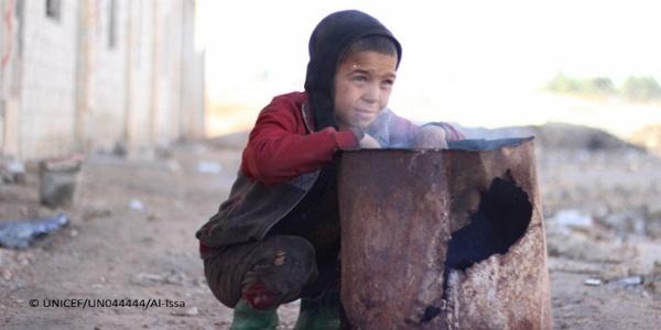 Ola de frío y refugiados