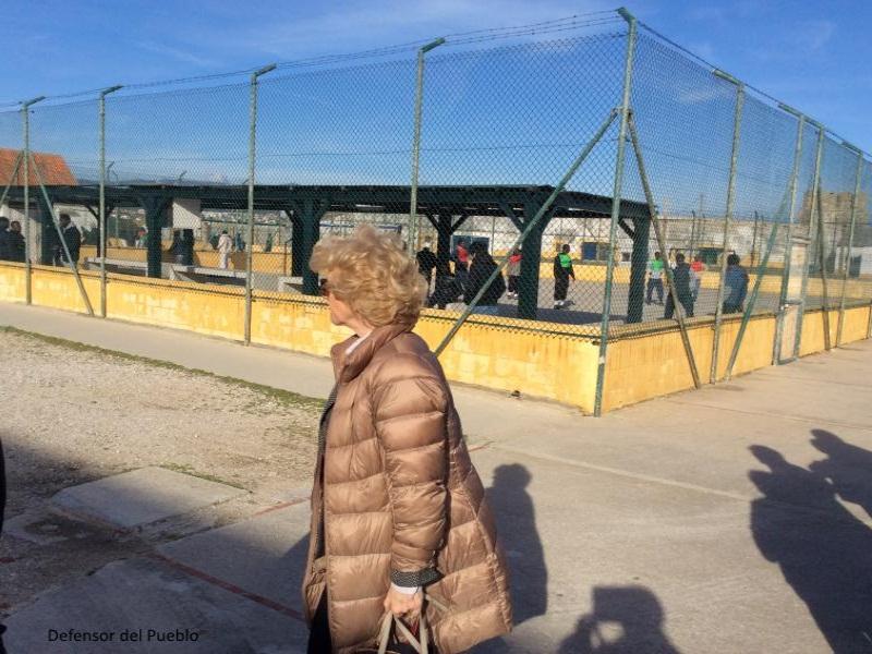 Centro de internamiento de extranjeros Tarifa