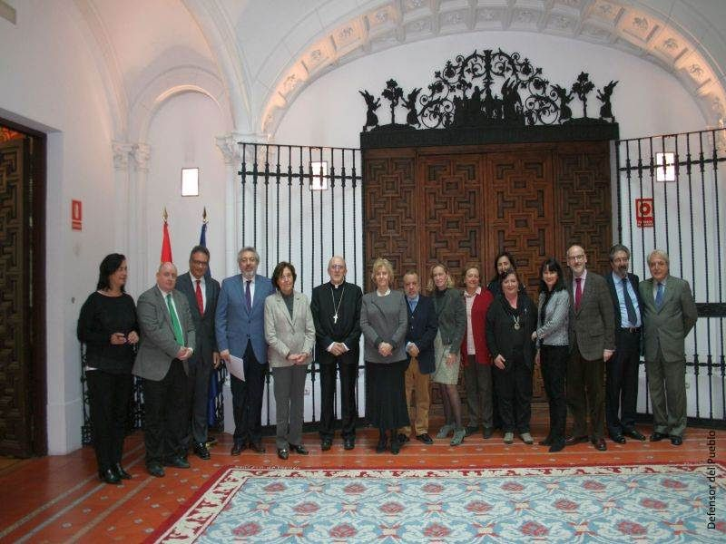 Visita arzobispo de Madrid