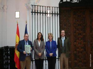 Reunión de la Defensora del Pueblo, Soledad Becerril con representantes de la Fundación Amigos Aguila Imperial Lince Ibérico