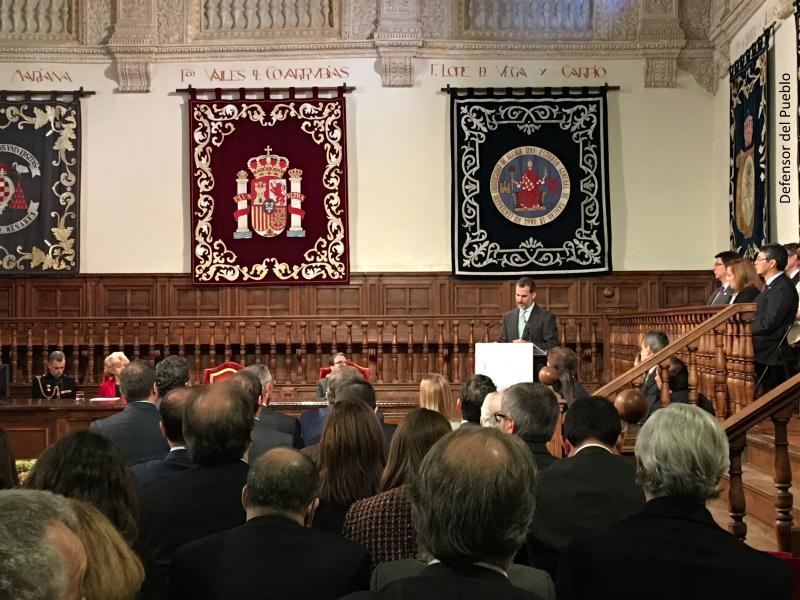 Discurso del Rey en la entrega del VII Premio DDHH Rey de España