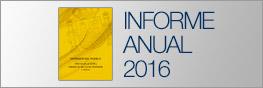 portada del informe anual 2016