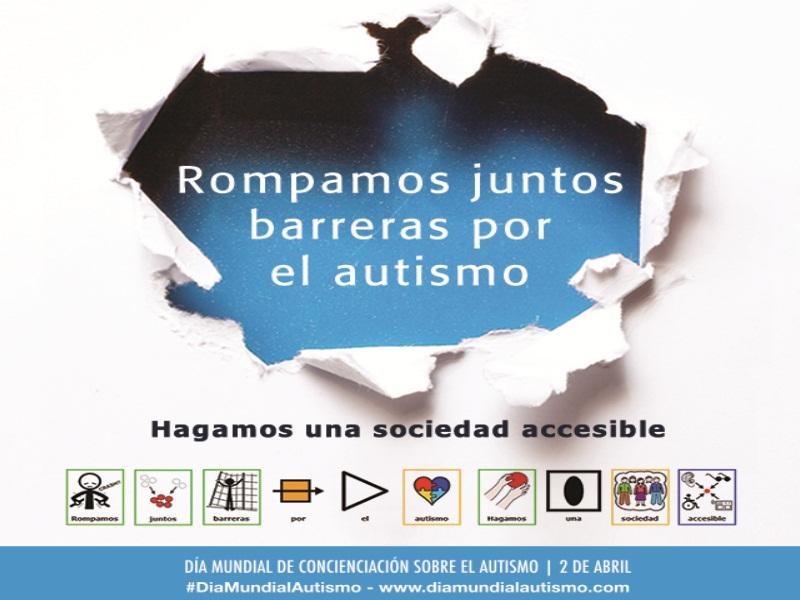 2 de abril. Día Mundial de Concienciación sobre el Autismo