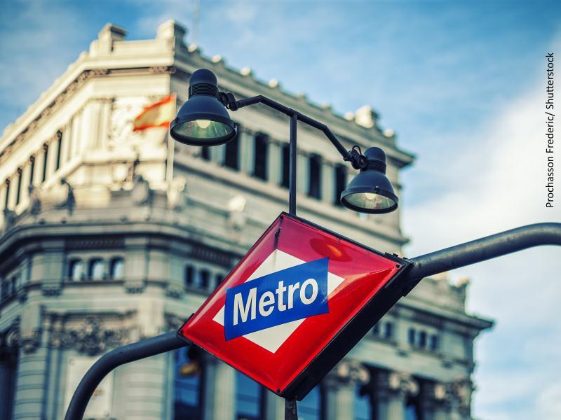 Boca de metro de Madrid