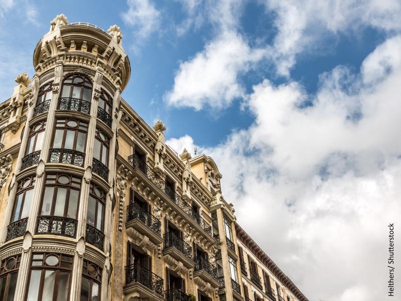 Vivienda de pisos antiguos en Madrid