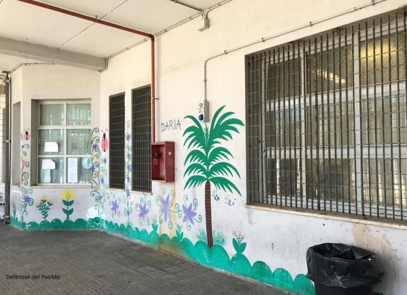 La Defensora visita el centro para extranjeros Ponte Galeria
