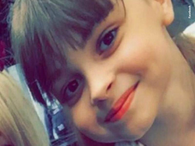 La niña Saffie Rose, víctima mortal del atentado de Manchester (Reino Unido)