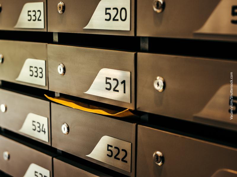 Cajetines de correos