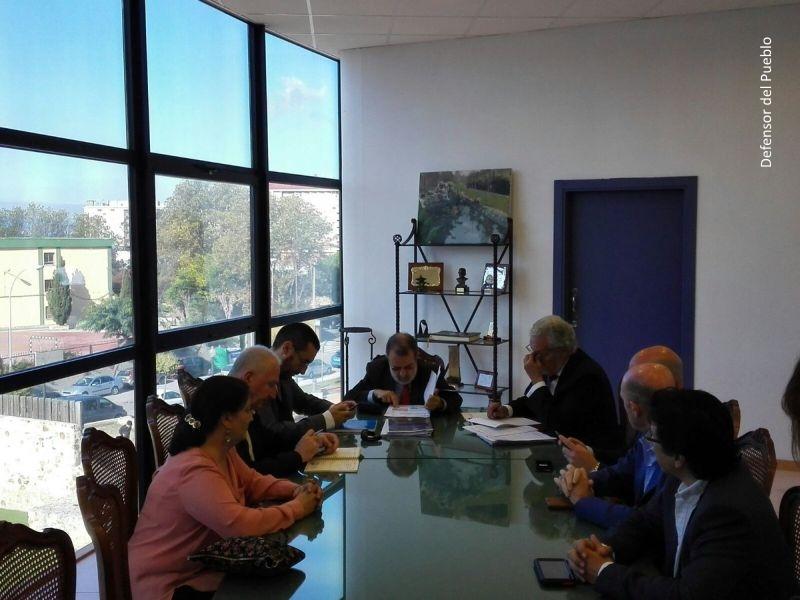 Reunión con portavoces municipales del Ayuntamiento de La Línea