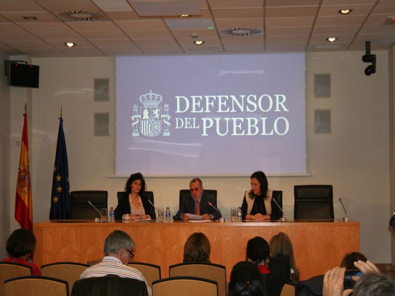 """Jornada del Defensor del Pueblo """"Avanzando hacia la protección efectiva de los hijos de las mujeres víctimas de violencia de género"""""""