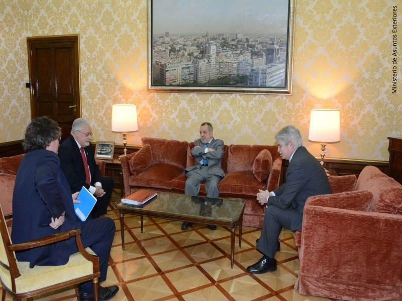 Reunión con el Ministro de Asuntos Exteriores
