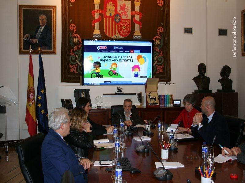 Reunión con el representante especial del secretario general del Consejo de Europa para las Migraciones