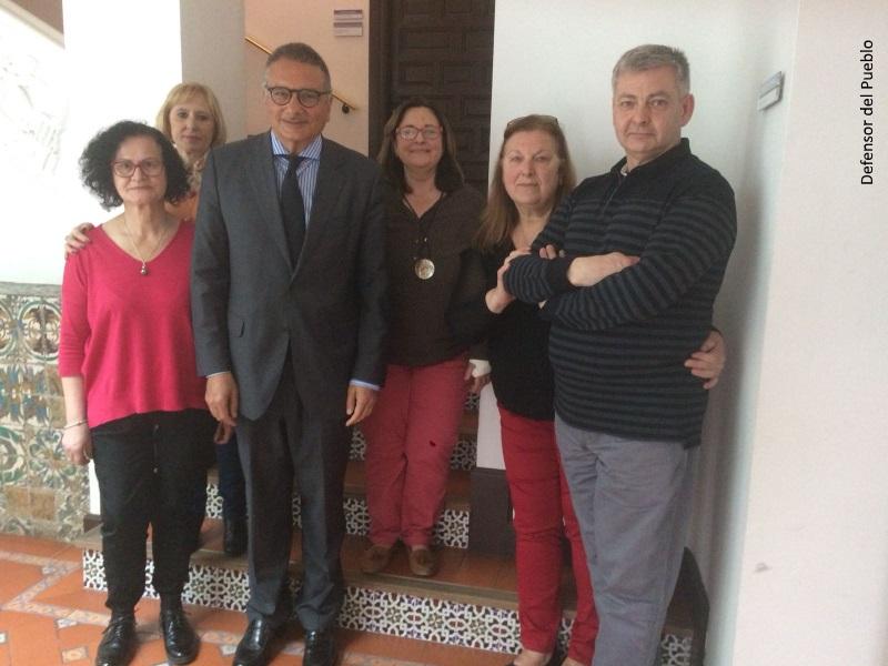 El técnico responsable de Seguridad y Justicia, Andrés Jiménez, se reúne con asociaciones de víctimas de niños robados