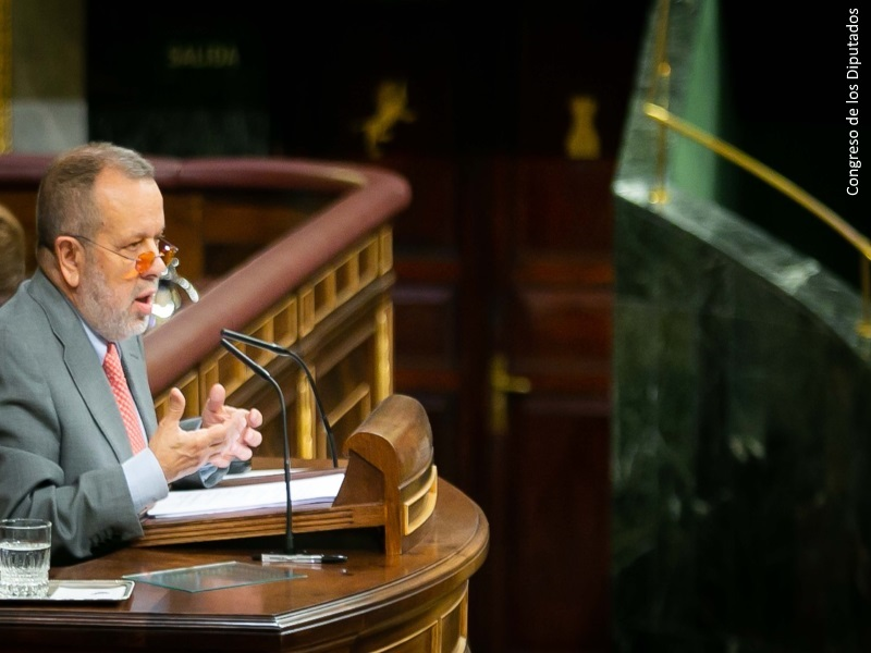 Fernández Marugán interviene presenta el Informe Anual 2017 ante el Pleno del Congreso
