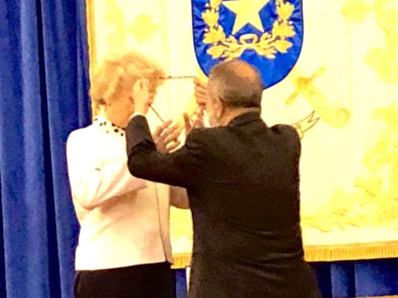 Medalla de la asociación Dignidad y Justicia