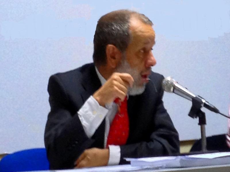 Francisco Fernández Marugán , Defensor del Pueblo (e.f.) durante su intervención en el congreso PRADPI