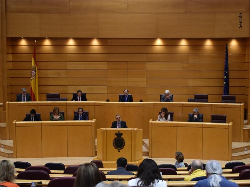 Comparecencia del Defensor del Pueblo en el Senado para presentar el Informe Anual 2017