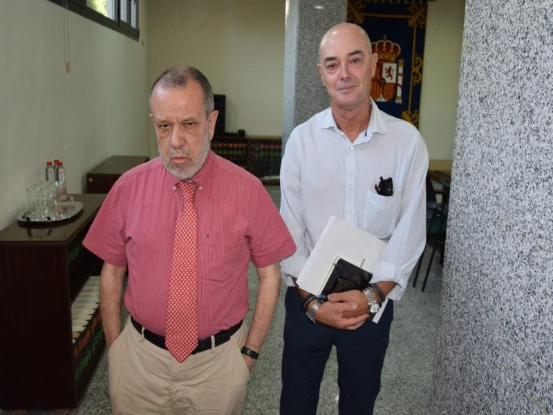 Reunión del Defensor del Pueblo (e.f.), Francisco Fernández Marugán, con Cruz Roja Melilla