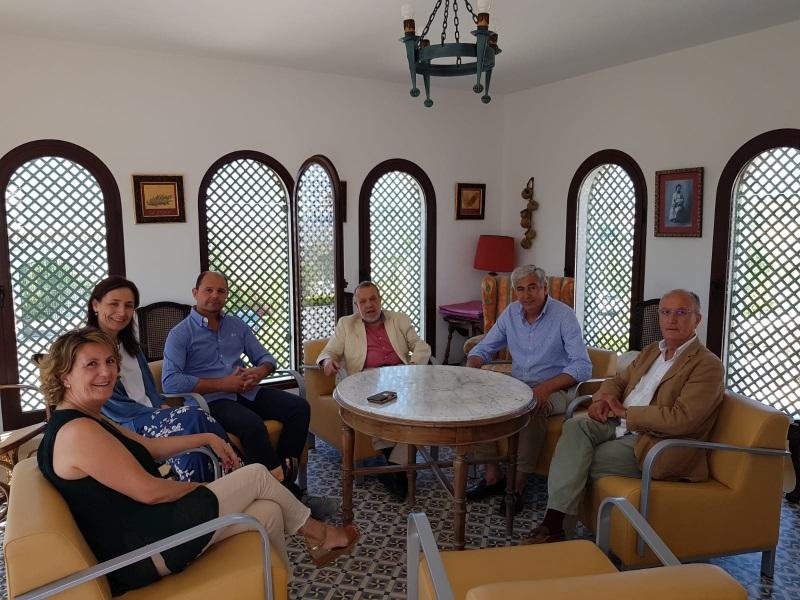 Reunión del Defensor del Pueblo (e.f.), Francisco Fernández Marugán, con alcaldes de la provincia de Córdoba