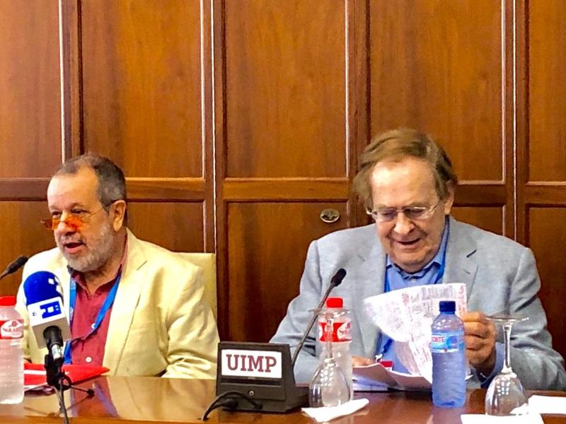 Conferencia del Defensor del Pueblo (e.f.), Francisco Fernández Marugán, sobre vivienda en la Universidad Internacional Menénez Pelayo (UIMP)