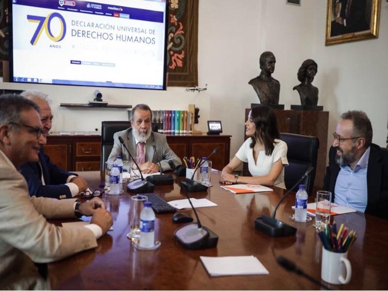 Reunión con representantes de Ciudadanos