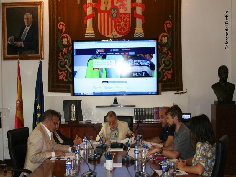 Reunión con diputados de Unidos Podemos