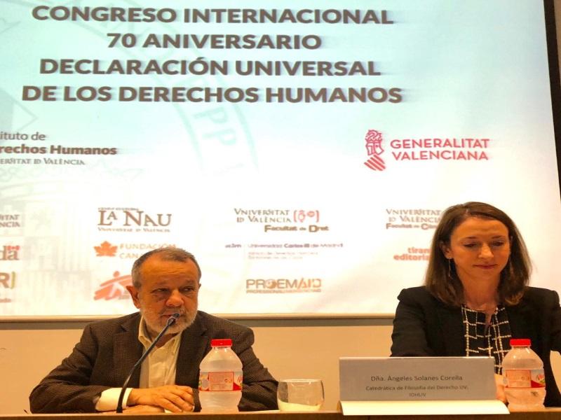 El Defensor en Congreso sobre Derechos Humanos