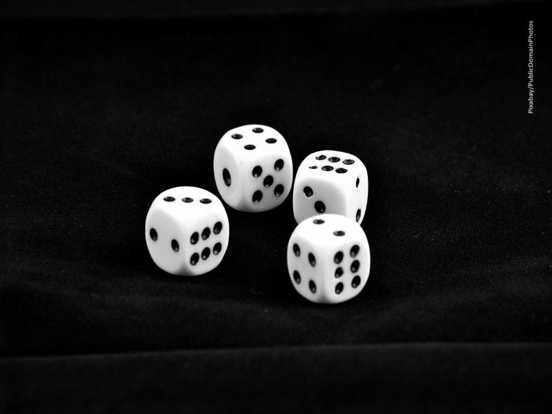Dados, juego, apuestas