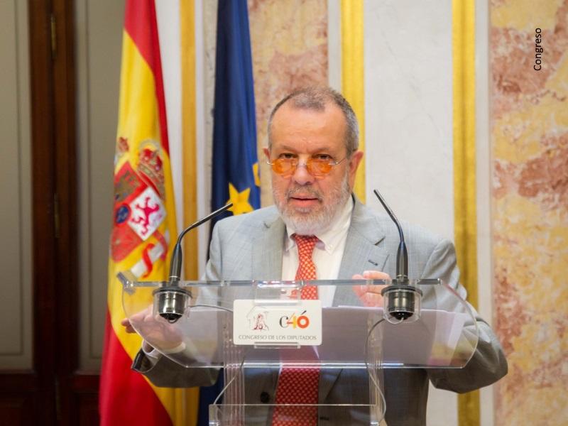 El Defensor del pueblo (e.f.), Francisco Fernández Marugán