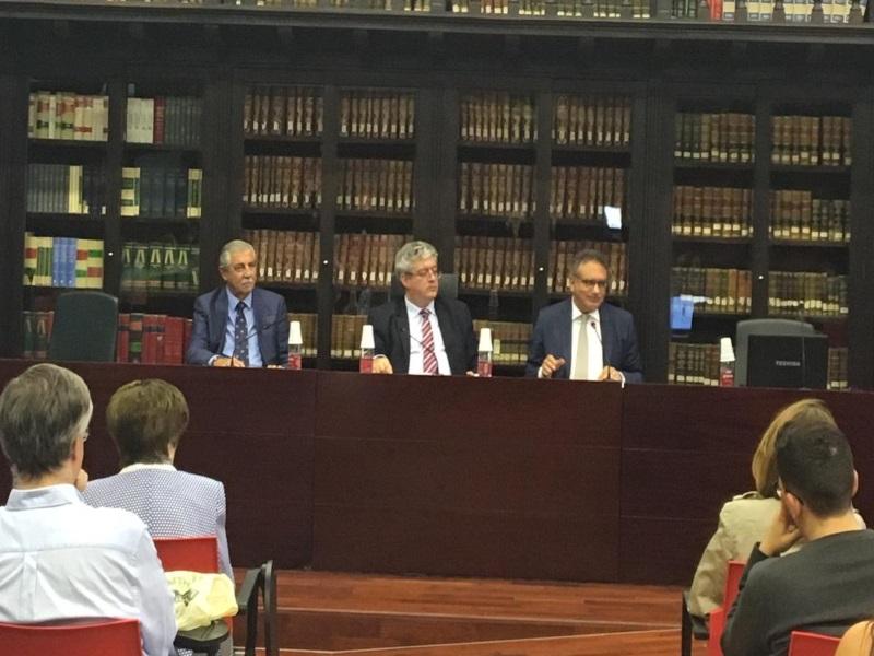 Conferencia de Andrés en Granada
