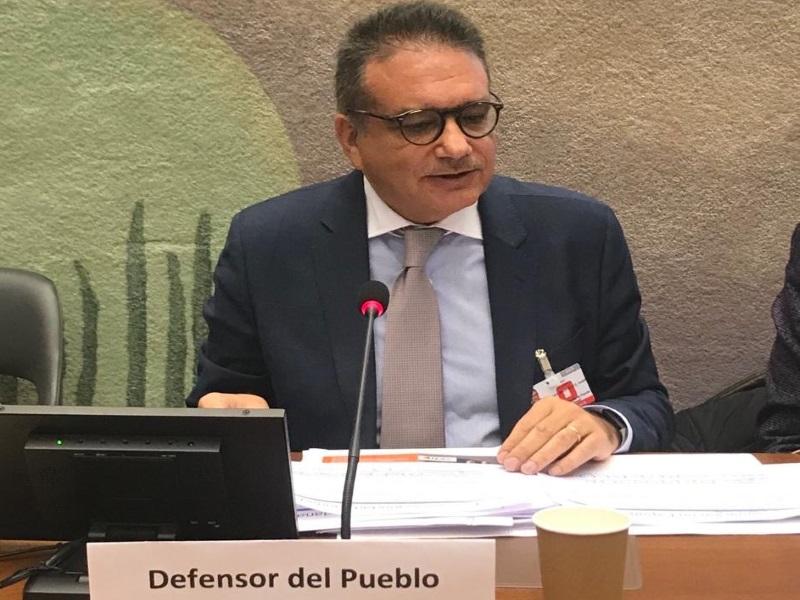 Intervención de Andrés Jiménez, Técnico Jefe de Seguridad y Justicia del Defensor del Pueblo, en Naciones Unidas.