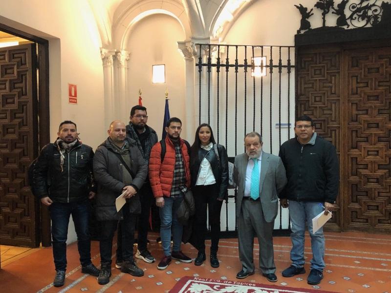 Reunión solicitantes de asilo