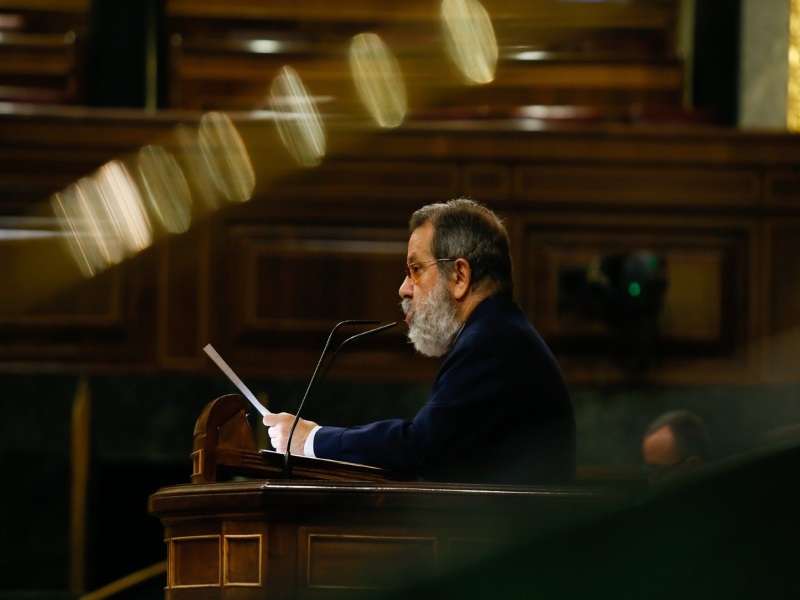 Fernández Marugán interviene en el Pleno del Congreso para explicar los Informes Anuales 2018 y 2019