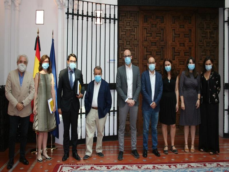 Reunión del Defensor del Pueblo (e.f) con el Secretario de Estado de Justicia