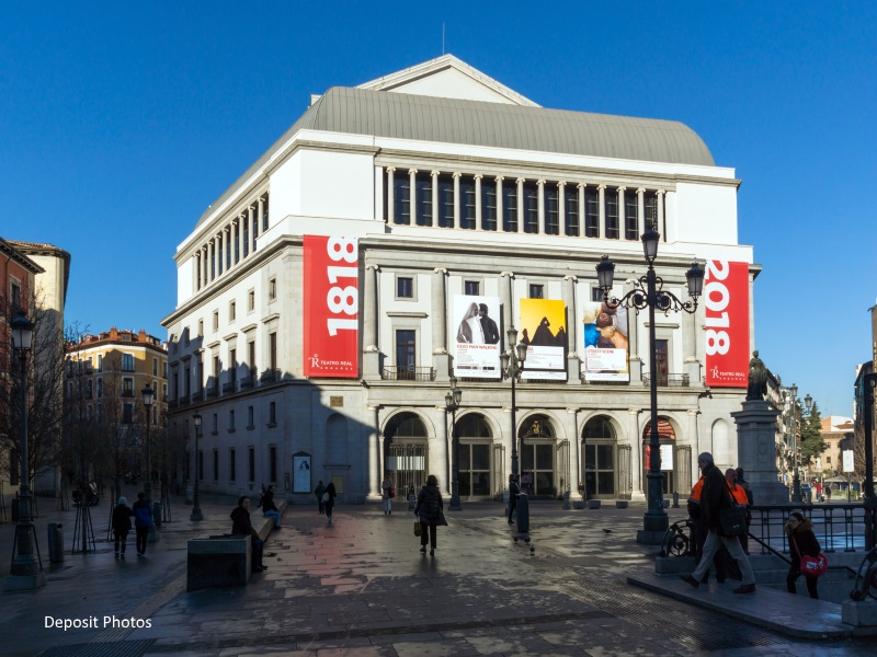 Suspensión ópera en el Teatro Real