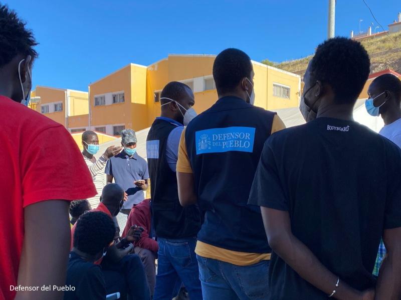 Supervisión situación migrantes